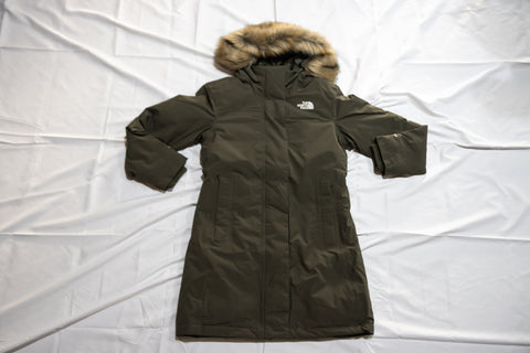 Womens' Artic Parka Taupe Green