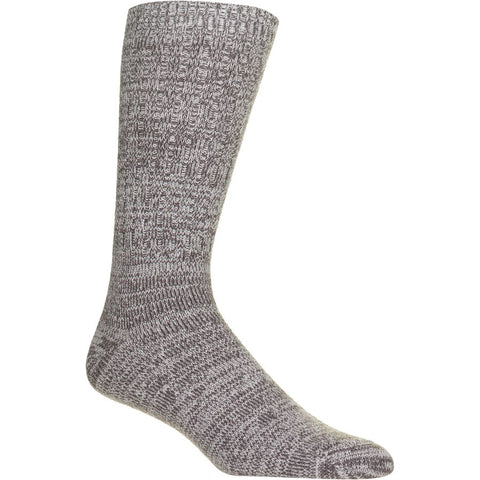 Womens' Rib Knit Slouchy Crew Sock