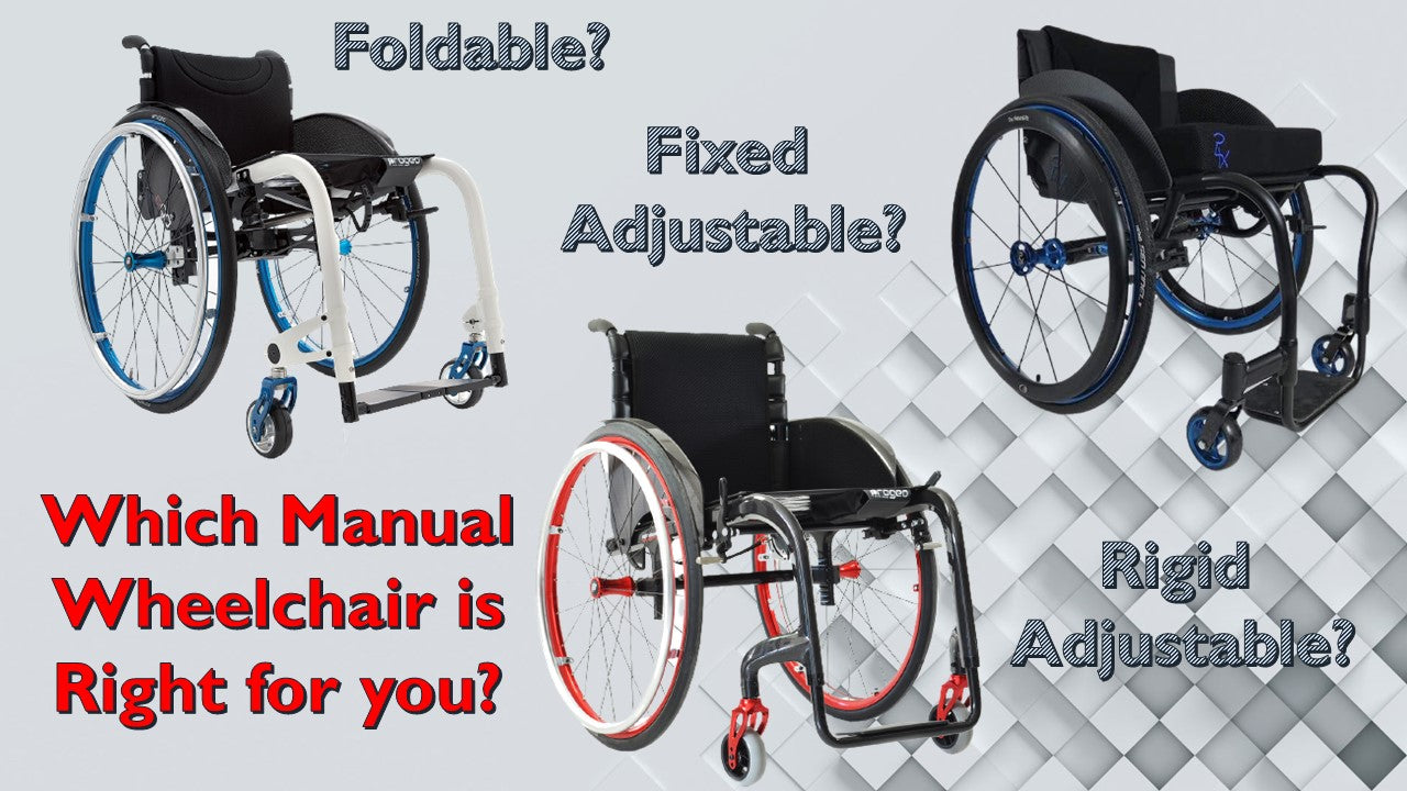 which wheelchair folding rigid adjustable