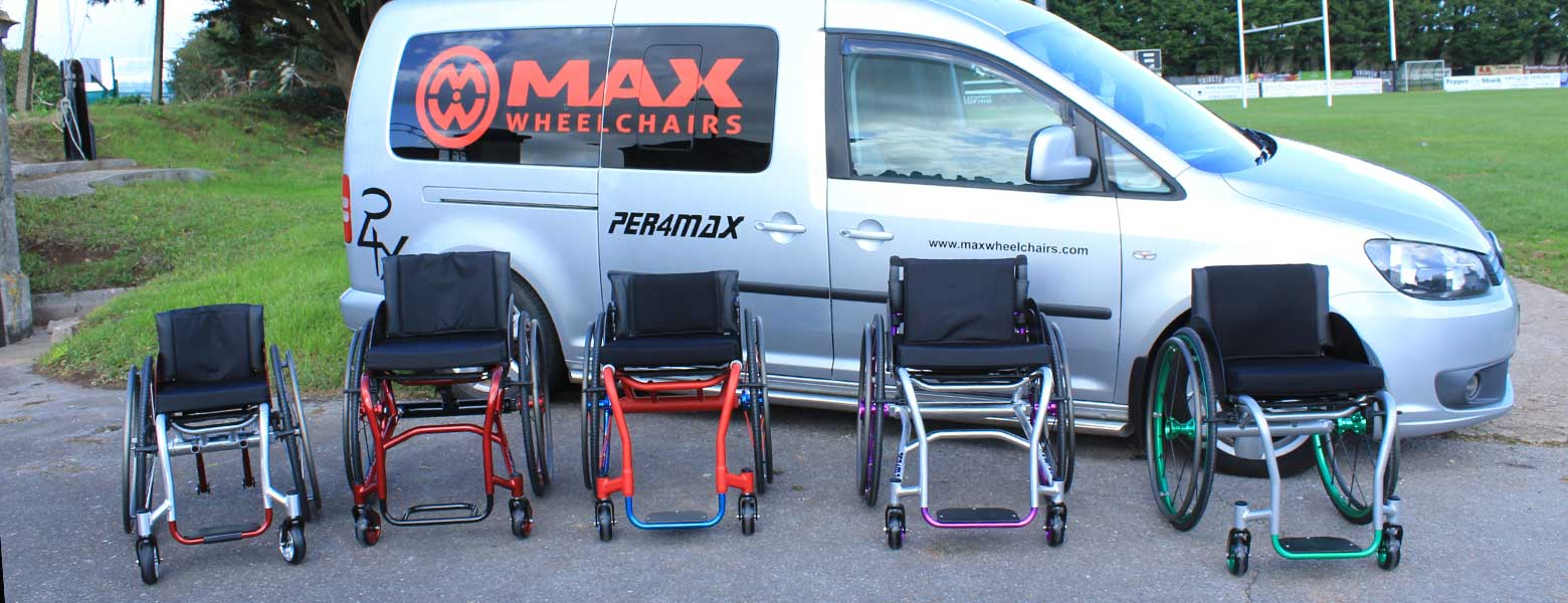 Max Wheelchair tailor made process van chairs