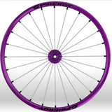 Spinergy Wheelchair Wheels Sports slx purple