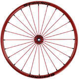 Spinergy Everyday Wheelchair Wheels: Extra Light Extreme LXL model red red