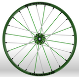 Spinergy Sport wheelchair wheel Light Extreme X Laced xslx green green white