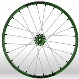 Spinergy Sport wheelchair wheel Light Extreme X Laced xslx green white