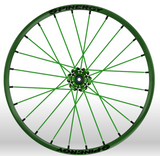 Spinergy Sport wheelchair wheel Light Extreme X Laced xslx all green