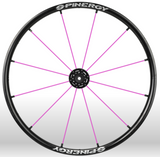 Spinergy Everyday Wheelchair Wheels: Light Extreme LX model pink