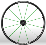 Spinergy Everyday Wheelchair Wheels: Light Extreme LX model green