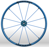 Spinergy Everyday Wheelchair Wheels: Light Extreme LX model blue blue