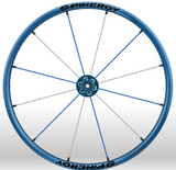 Spinergy Everyday Wheelchair Wheels: Light Extreme LX model blue white