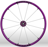 Spinergy Everyday Wheelchair Wheels: Light Extreme LX modelpurple white