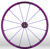 Spinergy Everyday Wheelchair Wheels: Light Extreme LX model purple purple