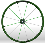 Spinergy Everyday Wheelchair Wheels: Light Extreme LX model green green white