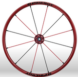 Spinergy Everyday Wheelchair Wheels: Light Extreme LX model red red black