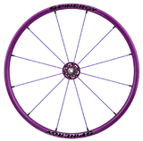 Spinergy Everyday Wheelchair Wheels: Light Extreme LX model purple