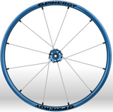 Spinergy xlx x laced wheelchair wheels blue white