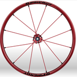Spinergy xlx x laced wheelchair wheels all red