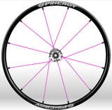 Spinergy xlx x laced wheelchair wheels pink