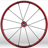 Spinergy xlx x laced wheelchair wheels red black