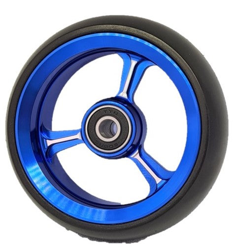 Jaguar Soft Roll wheelchair castor wheels blue