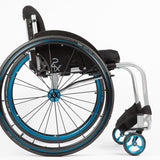 Per4max Skye lightweight manual rigid wheelchair side
