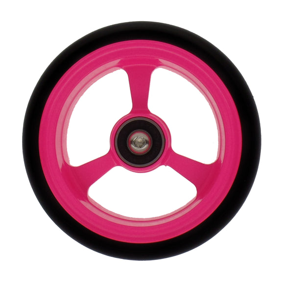 Frog legs WIDE soft roll wheelchair 4 inch castor wheels pink