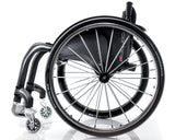 Progeo Carbomax lightweight everyday wheelchair side