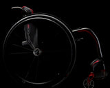 Progeo Carbomax lightweight everyday wheelchair dark side