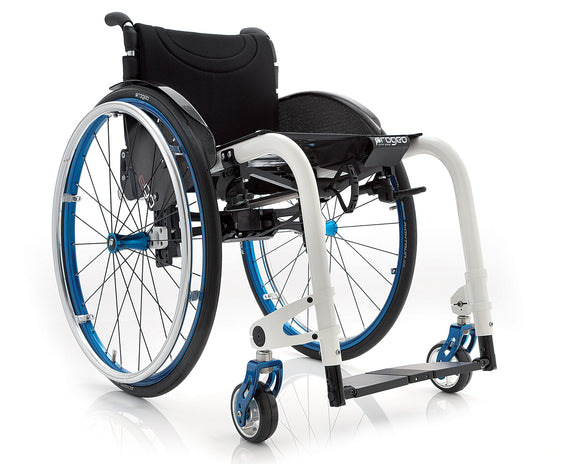 Progeo folding wheelchair lightweight ego white