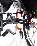 Progeo folding wheelchair lightweight ego cross axle
