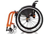 Progeo folding wheelchair lightweight ego orange