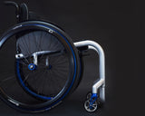 Progeo Joker Energy lightweight rigid wheelchair blue silver