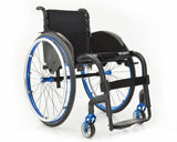Progeo Joker R2 lightweight rigid wheelchair blue