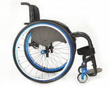 Progeo Joker R2 lightweight rigid wheelchair  side
