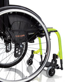 Progeo Folding lightweight wheelchair Yoga side