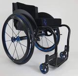 Per4max Skye lightweight manual rigid wheelchair black