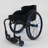 Per4max Skye lightweight manual rigid wheelchair black front