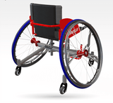 Thunder adjustable wheelchair basketball chair