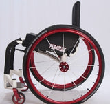 Per4max Skye lightweight manual rigid wheelchair red