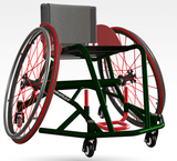 Thunder wheelchair basketball chair per4max mock up