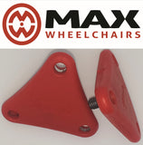 hand screws triangle for Triride attachment red