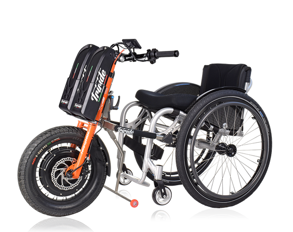 Triride Mad Max twin battery power assistance manual wheelchair