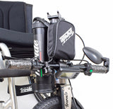 Triride Foldable power assistance for wheelchair users folded
