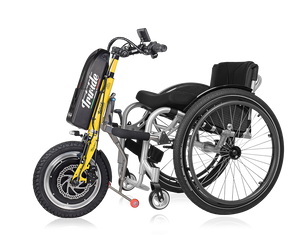 Triride L14 power assistance for disabled and mobility impaired wheelchair users