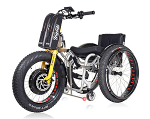 Triride T-Rocks with Fat wheels power assistance