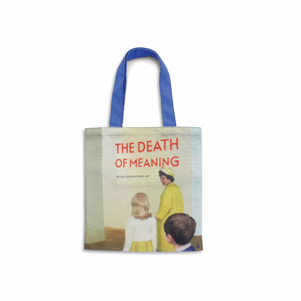 Third Drawer Down Tote Bag Miriam Elia We Go To The Gallery - Pretty Aufsicht