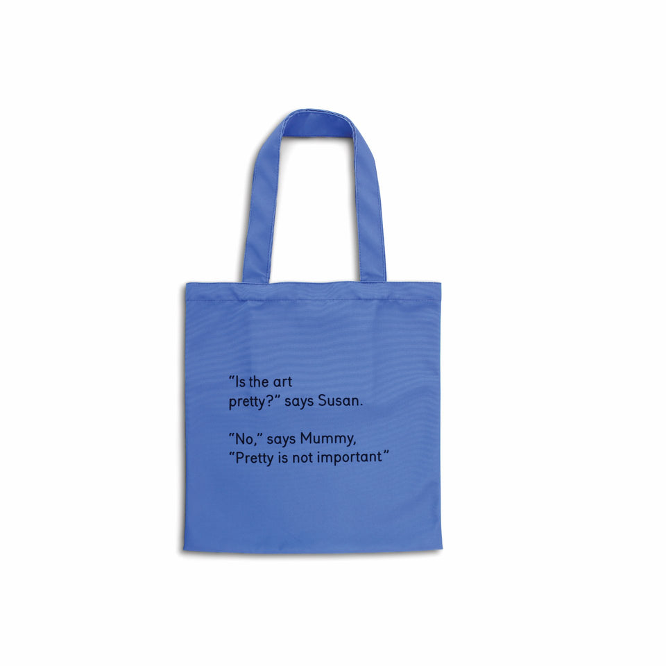 Third Drawer Down Tote Bag Miriam Elia We Go To The Gallery - Pretty Rückansicht