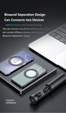 XCapsule Totally Wireless Bluetooth Earbuds for Samsung, Iphone, Huawei - gadgetnero.com