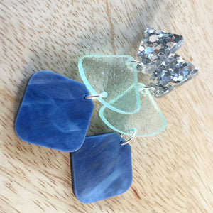 Sea Glass Trios