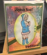 Load image into Gallery viewer, Joyeux NoeL Holiday Card/ Christmas Card / Friendship/ Winter Greeting/ Noel/ French
