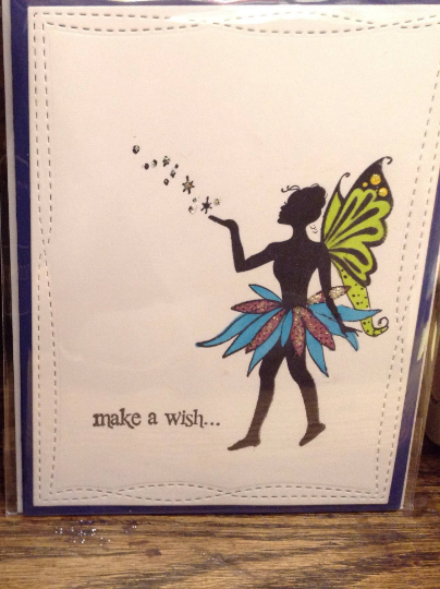 Make a Wish Fairy Greeting Card/Birthday/hope/inspiration/magical